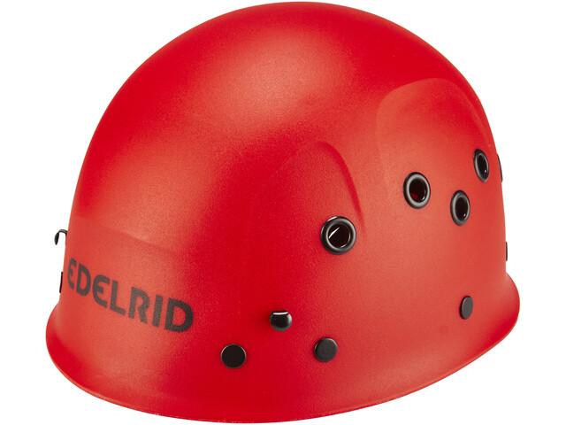 Edelrid Ultralight Casco Niños, red